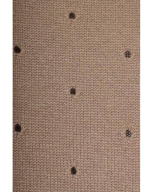 Джемпер Agnona                                                                                                              коричневый цвет