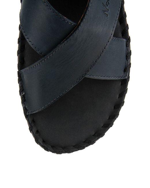 Сандалии Nexpero                                                                                                              синий цвет