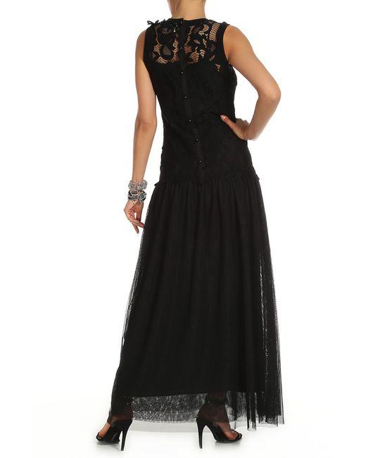 Платье Twin-Set Jeans                                                                                                              чёрный цвет