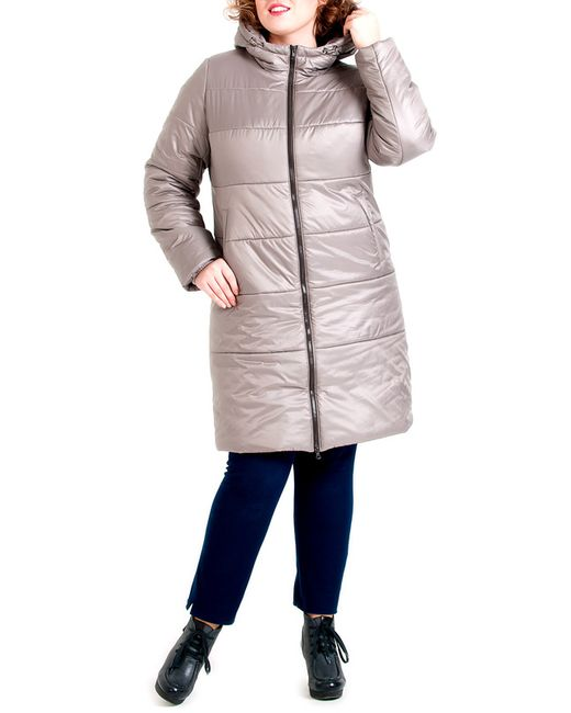 Modress | Женское Серое Пальто