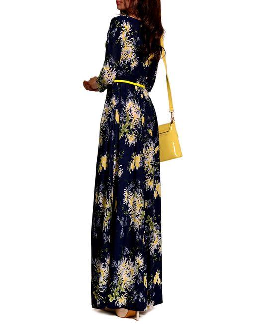 Платье FRANCESCA LUCINI                                                                                                              желтый цвет