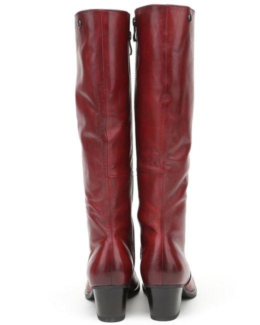 Сапоги Caprice                                                                                                              красный цвет