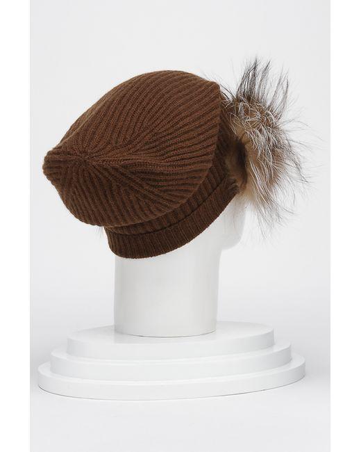 Шапка Max Mara                                                                                                              коричневый цвет