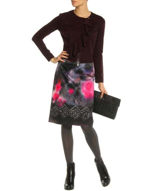 Пиджак Sfizio                                                                                                              Темно-Лиловый цвет