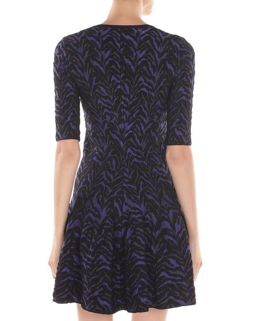 Платье Roberto Cavalli                                                                                                              фиолетовый цвет