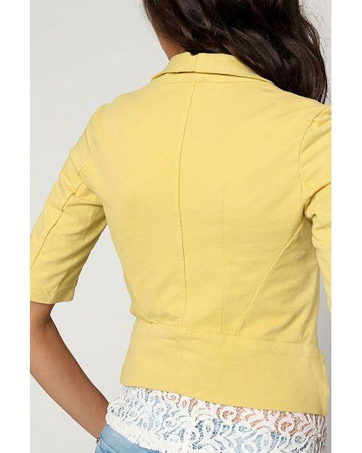 Блейзер Joins                                                                                                              желтый цвет