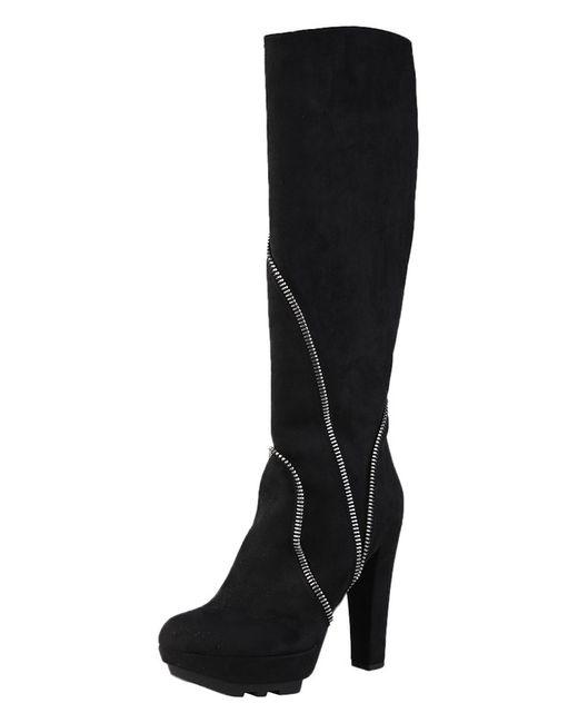 Сапоги Versace 19•69                                                                                                              чёрный цвет