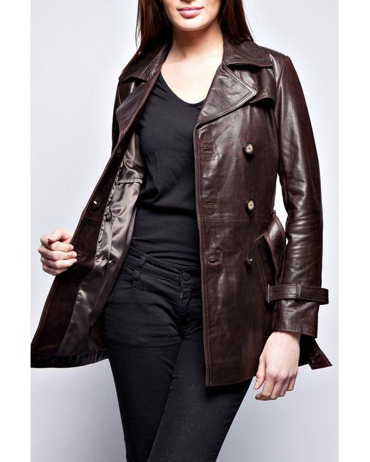 Куртка John & Yoko                                                                                                              коричневый цвет