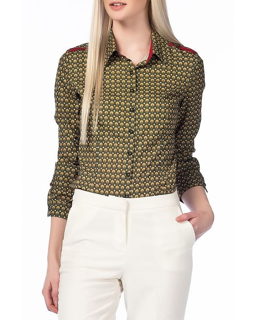 Блуза Palmetto                                                                                                              зелёный цвет