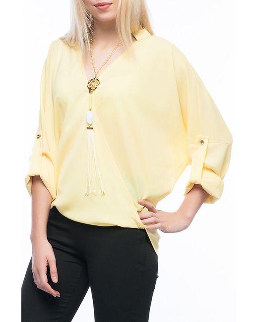 Блуза Ironi                                                                                                              желтый цвет
