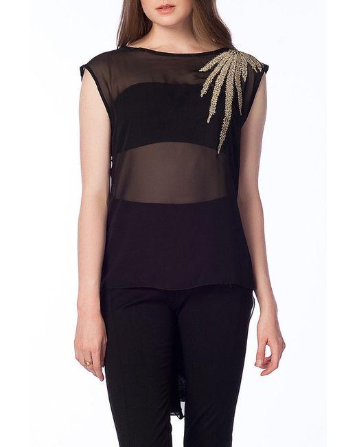 Блуза Ironi                                                                                                              чёрный цвет