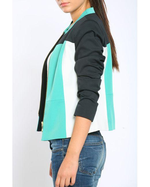 Пиджак Collezione Di Ines                                                                                                              зелёный цвет