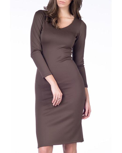 Платье Kakao                                                                                                              коричневый цвет