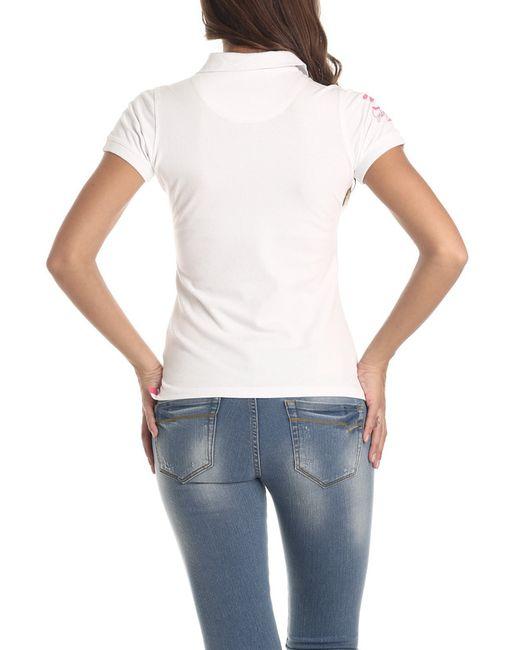 Рубашка-Поло Galvanni                                                                                                              белый цвет