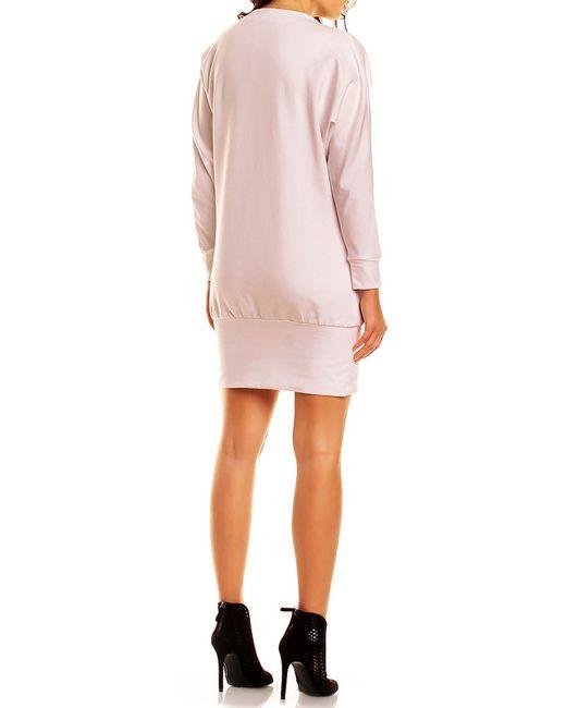 Платье NOMMO                                                                                                              розовый цвет
