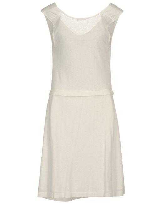 Платье Wood                                                                                                              белый цвет