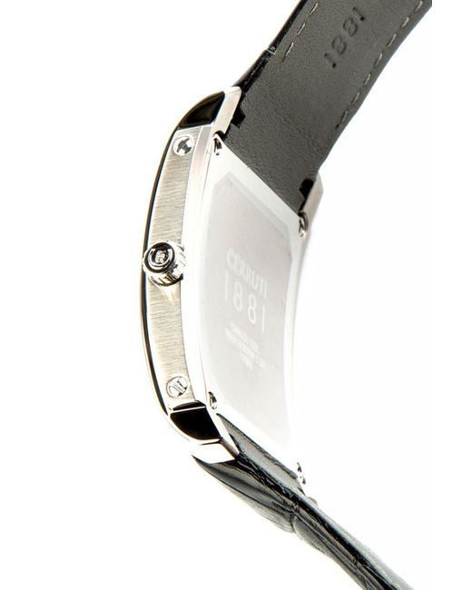 Часы Cerruti                                                                                                              чёрный цвет