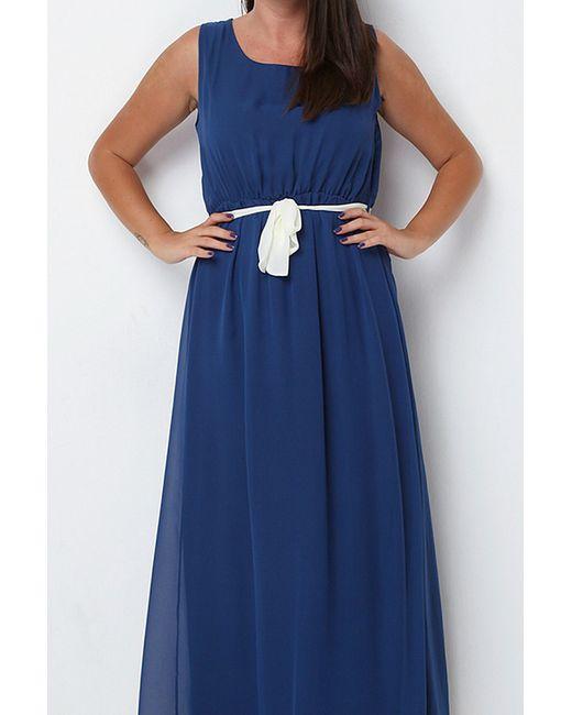 Платье Sense                                                                                                              синий цвет