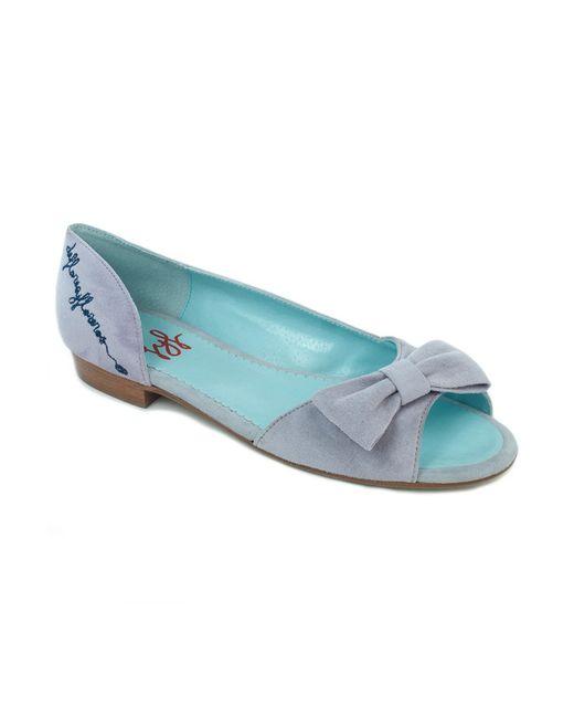 Туфли Defloresyfloreros                                                                                                              серый цвет