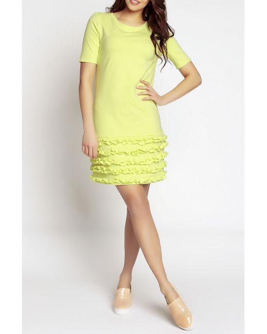 Платье NOMMO                                                                                                              желтый цвет