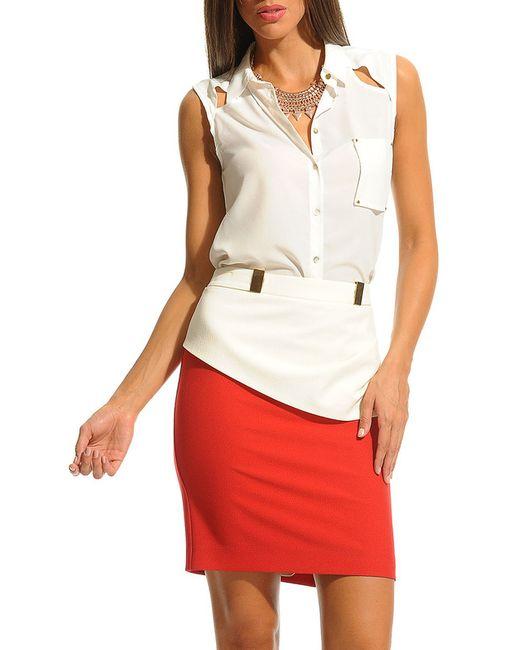 Платье Ludomara fashion                                                                                                              белый цвет