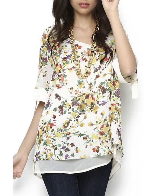 Блуза Ludomara fashion                                                                                                              многоцветный цвет