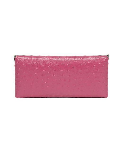 Клатч Almini Milano                                                                                                              розовый цвет