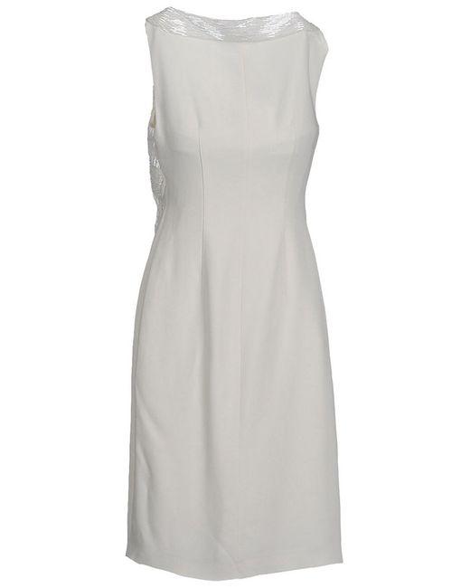 Платье Alberta Ferretti                                                                                                              бежевый цвет