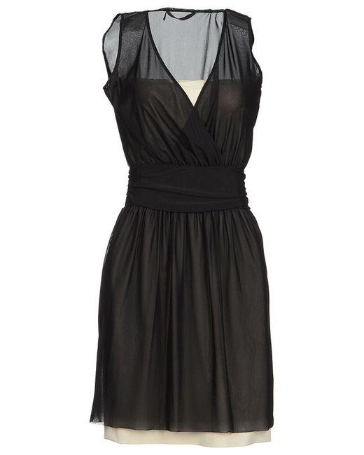 Платье Love Moschino                                                                                                              чёрный цвет