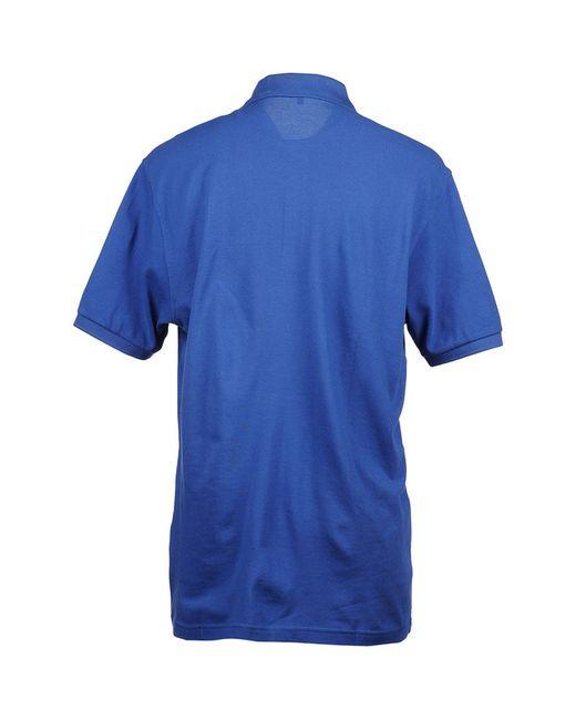 Футболка-Поло PIERRE CARDIN.                                                                                                              синий цвет
