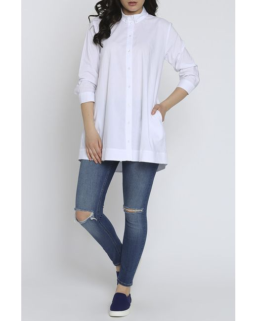 Рубашка Moda Di Chiara                                                                                                              белый цвет