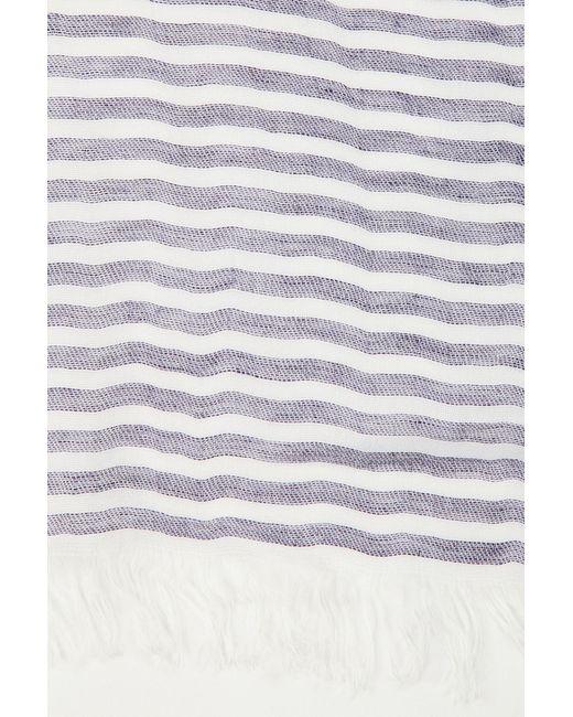 Шарф Emporio Armani                                                                                                              фиолетовый цвет