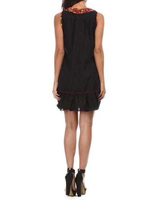 Платье Aller Simplement                                                                                                              чёрный цвет