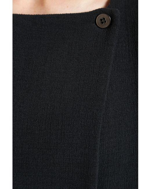 Топ Emporio Armani                                                                                                              чёрный цвет