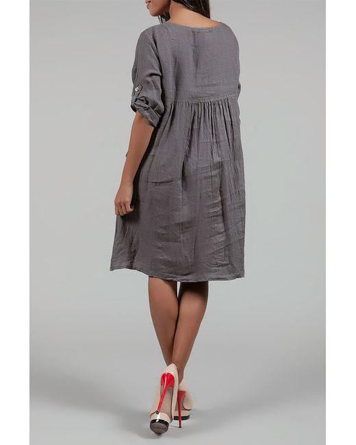 Платье Des Si Belles                                                                                                              коричневый цвет