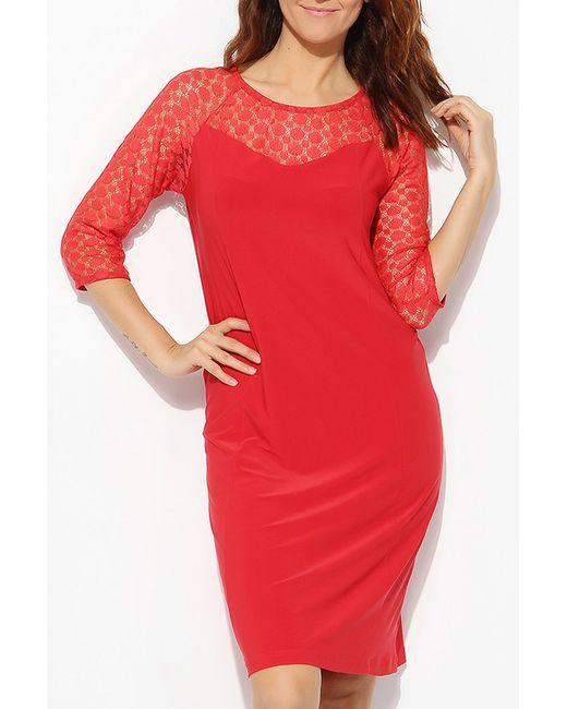 Платье LIR                                                                                                              красный цвет