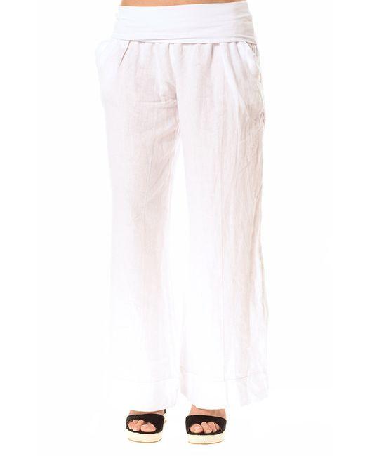 Брюки La Belle Parisienne                                                                                                              белый цвет