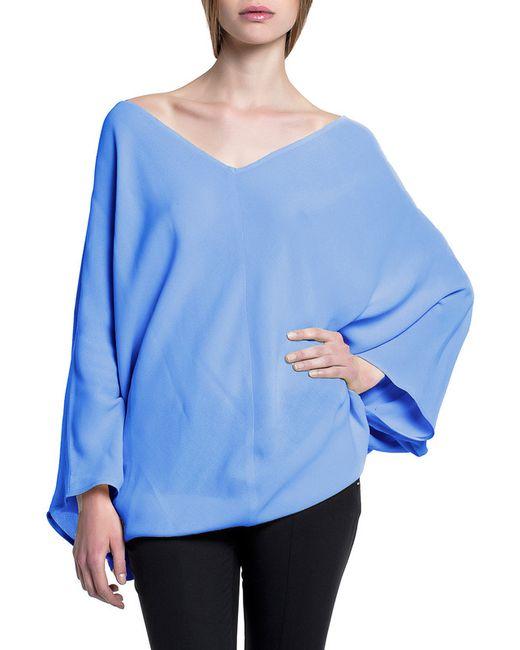 Блуза STELLAR                                                                                                              синий цвет