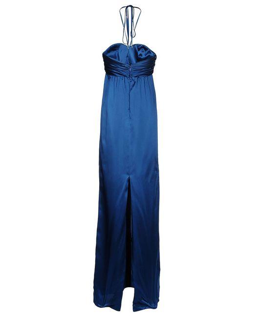 Платье Galliano                                                                                                              синий цвет