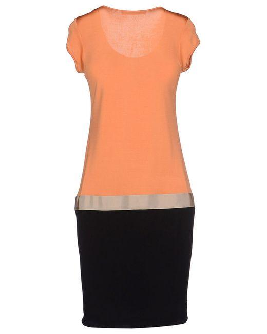 Платье Cristinaeffe                                                                                                              оранжевый цвет