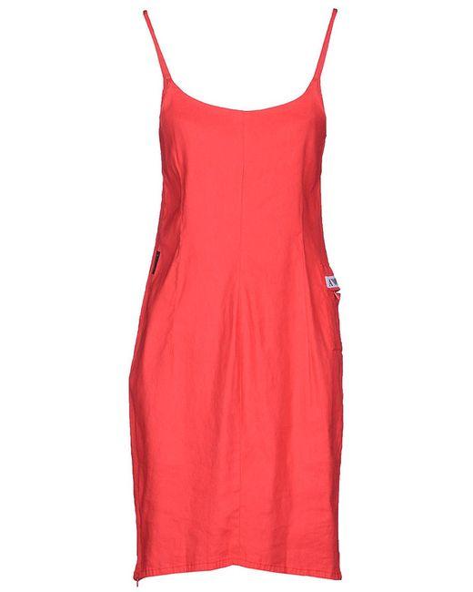 Платье ARMANI JEANS                                                                                                              красный цвет
