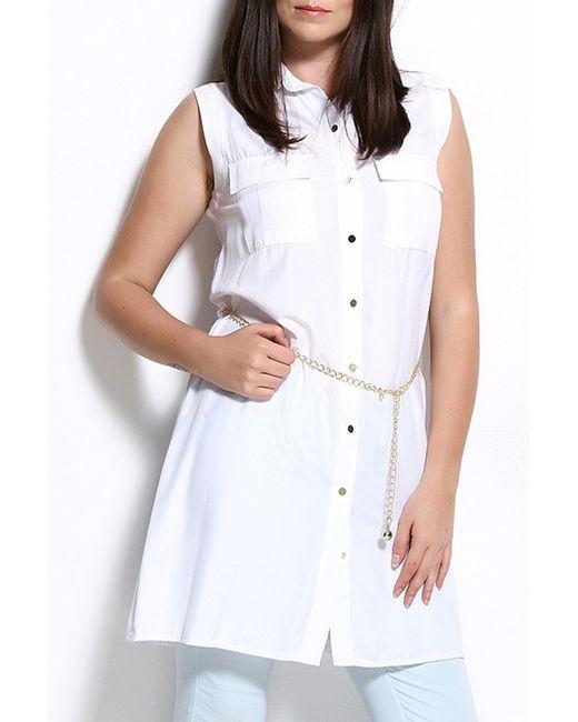 Платье ZEDD                                                                                                              белый цвет