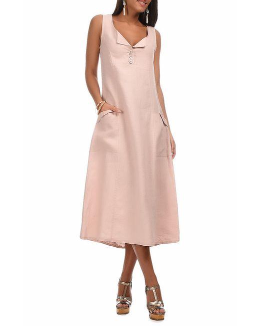 Платье Eva tralala                                                                                                              розовый цвет