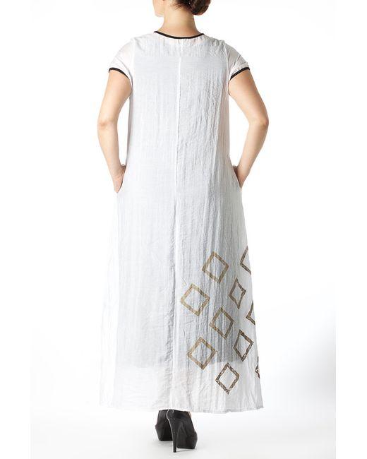 Платье Zedd Plus                                                                                                              белый цвет