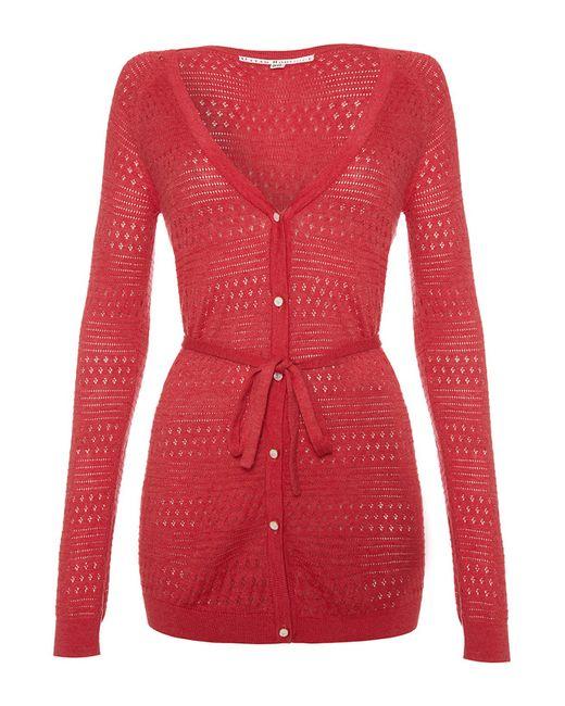 Кардиган Uttam Boutique                                                                                                              красный цвет