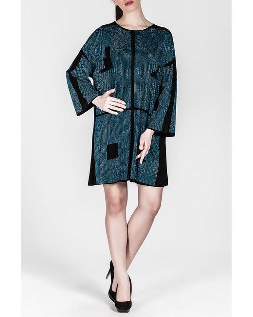 Платье Moda di Lorenza                                                                                                              синий цвет