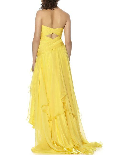 Платье YASMIN                                                                                                              желтый цвет