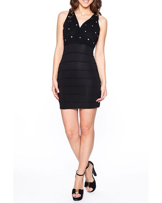 Платье Rare London                                                                                                              чёрный цвет