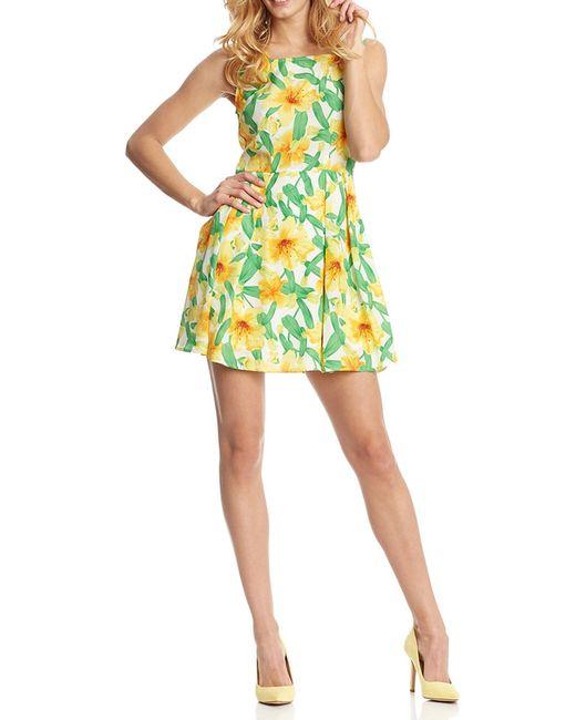 Платье Rare London                                                                                                              желтый цвет