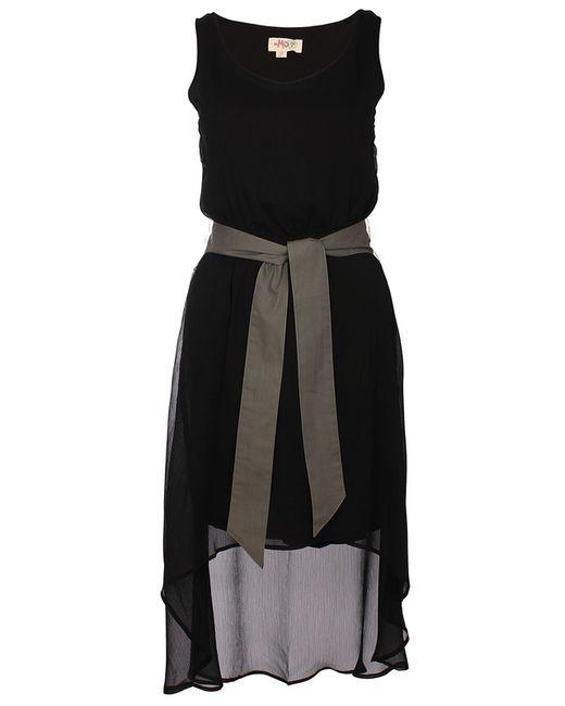 Платье myMo                                                                                                              чёрный цвет